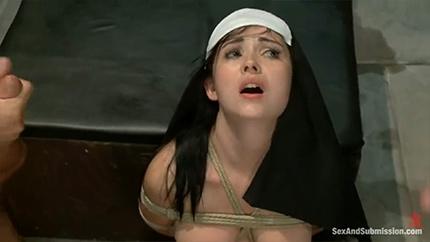 Наказали бедную монашку