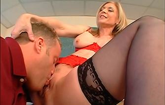 Трахнул свою сексуальную учительницу