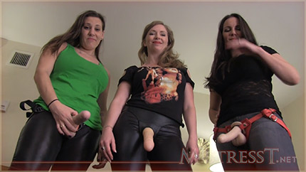 Mistress T и ее подружки со страпонами